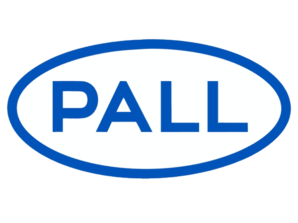 A PALL brand logo on white background.